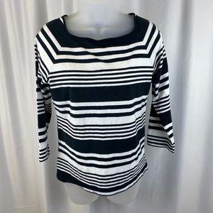 Chaps Striped Sweater